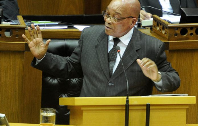 President Jacob Zuma faces criminal charges filed by EFF leader Julius Malema.