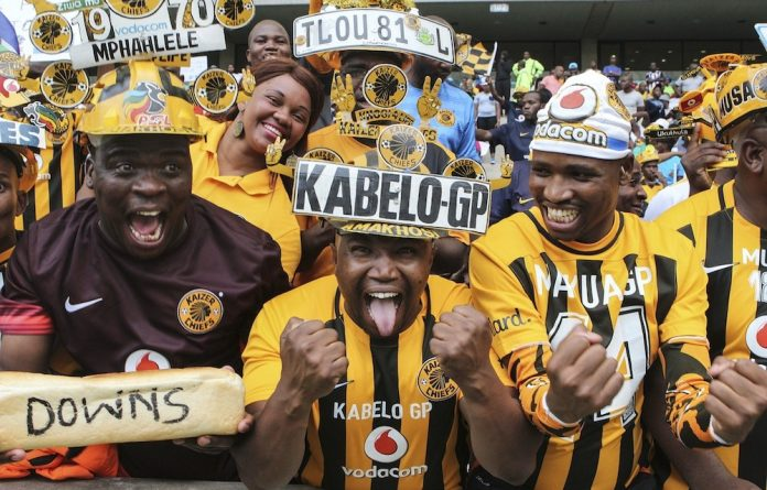 Happiness: Another derby for Chiefs fans.