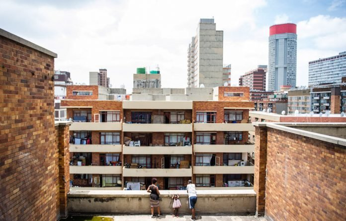 "Down and out: Residents of a Berea building face eviction or ""temporary"" relocation. Photos: Delwyn Verasamy"