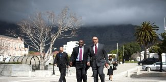 National Planning Committee members in 2012 Trevor Manuel and Cyril Ramaphosa. Gumede says the committee's National Development Plan falls short in many ways.