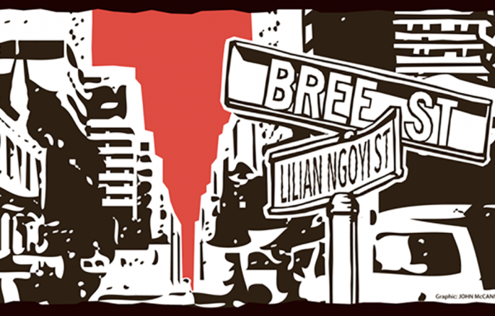 The author recalls the Bree Street of his youth