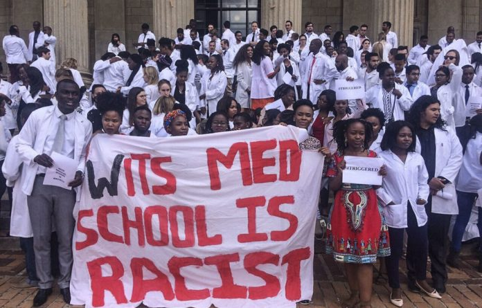 Our Mia Malan speaks to Laura Lopez Gonzalez about the recent allegations of racism at Wits Medical School.