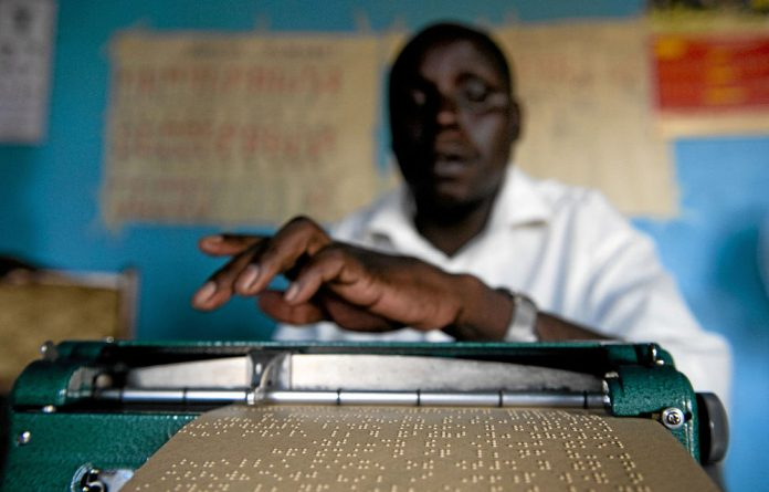 South Africa's visually impaired people have access to only 0.5% of the world's books.
