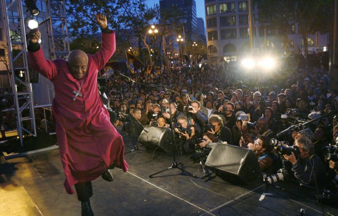 Archbishop Emeritus Desmond Tutu would declare with unstinting confidence that