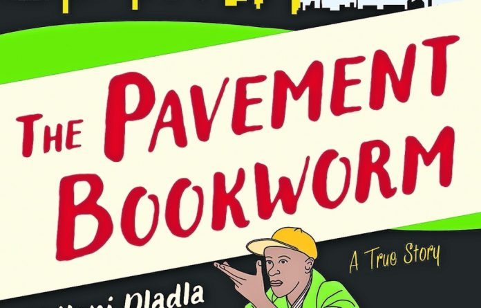 Philani Dladla's new book explores aspects of his life as a street-dwelling bookworm.