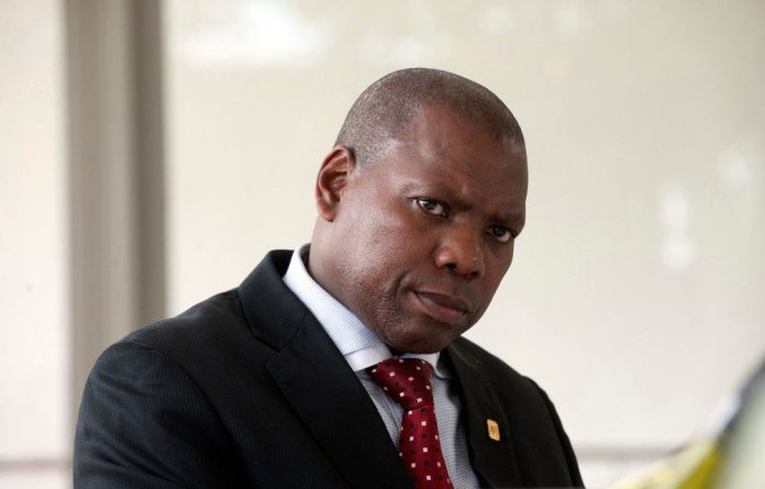 ANC treasurer general Zweli Mkhize.