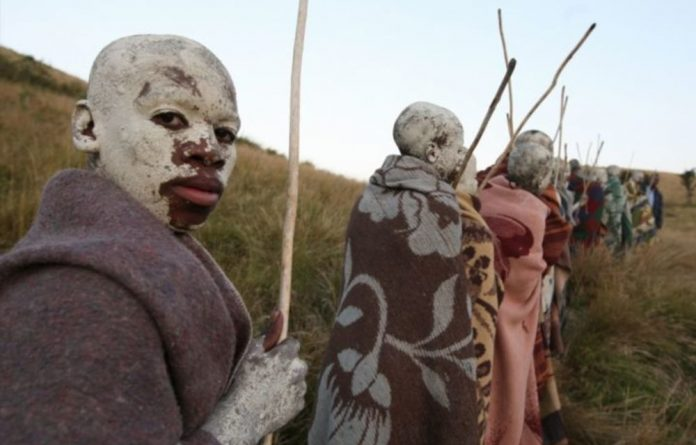 An unknown man has been shot and killed at an Eastern Cape initiation school.