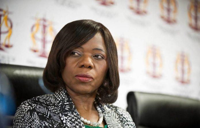 Thuli Madonsela's term ends October 1.