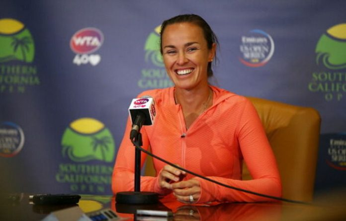 Martina Hingis is back after retiring twice.