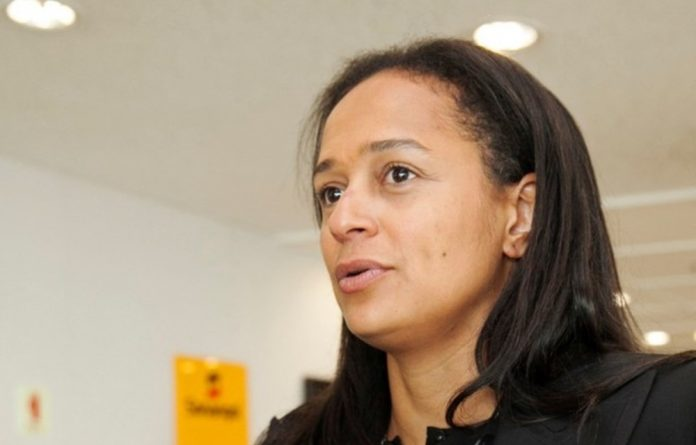 Isabel dos Santos has been fired as head of the Sonangol state oil company.