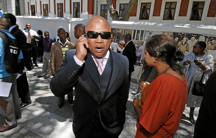 Tony Yengeni has made a career out of hawking his connections.