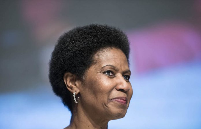 United Nation's Women's executive director Phumzile Mlambo-Ngcuka.