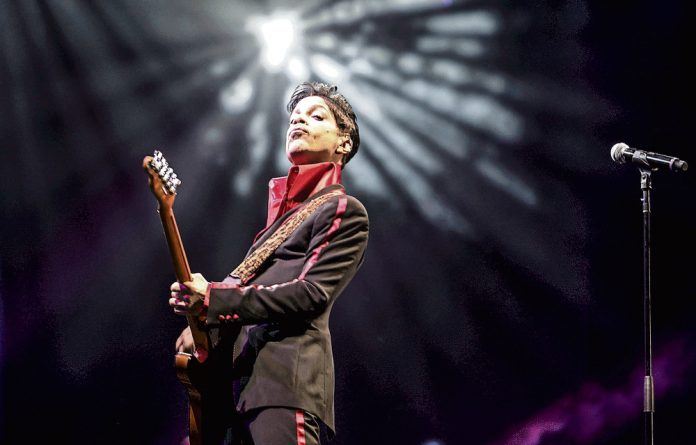 No chameleon: Prince sat comfortably with his myriad conflicting selves.