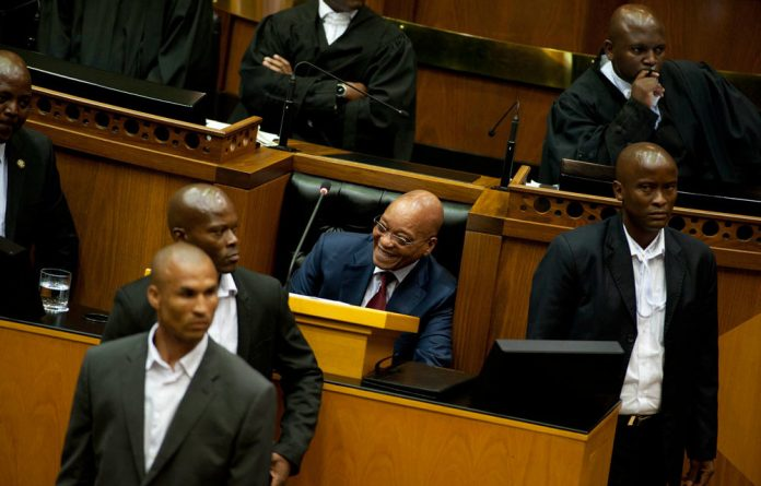 Zuma failed to mention Nkandla