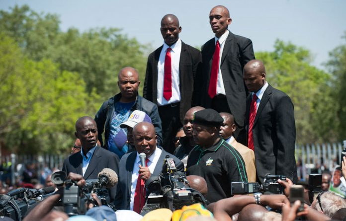 The matter relates to an incident in 2010 where former leaders Julius Malema