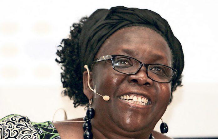 Dr Esther Muia - representative in South Africa UNFPA.