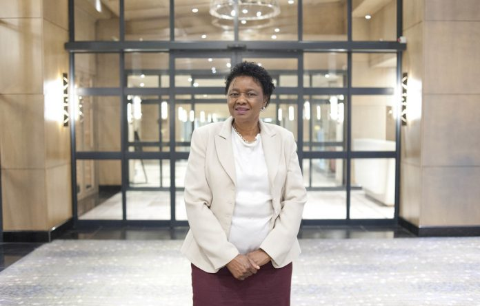 Accountable: The home affairs spokesperson has defended Minister Hlengiwe Mkhize
