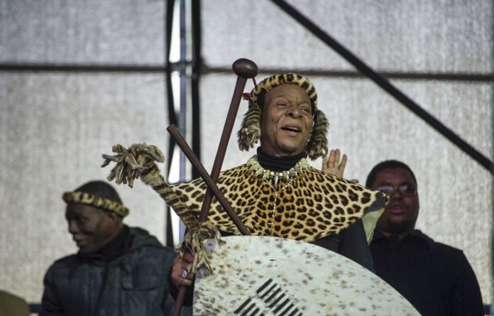 Land battle: King Goodwill Zwelithini's Ingonyama Trust Board is being taken to court for violating residents' constitutional right to security of tenure.