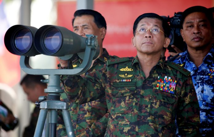 Myanmar military commander-in-chief