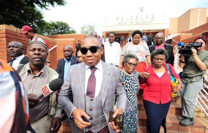 Former ANC MP Mduduzi Manana.