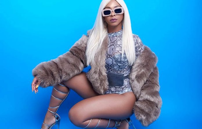 Provocative: Boity is the latest talent to hop onto the bandwagon of creating trap music. Photos: Instagram