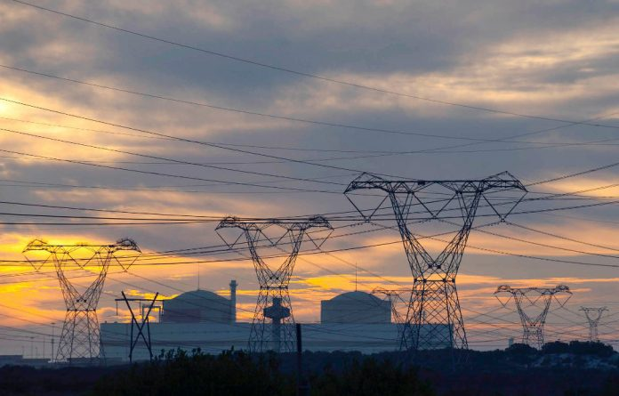 Eskom operates South Africa's only nuclear station