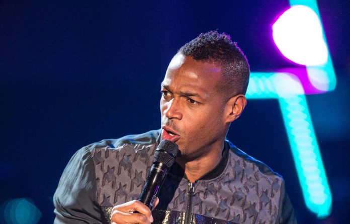 Marlon Wayans at this year's MTV Mamas in Durban.