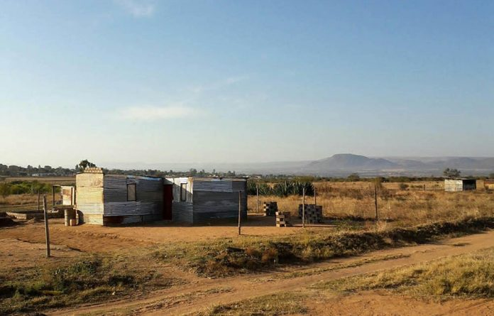 The tenants on Ria Nonyana-Mokabane's family land have been without electricity