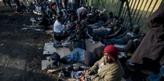 Taking their queues: Special permits for Zimbabweans in South Africa have been extended