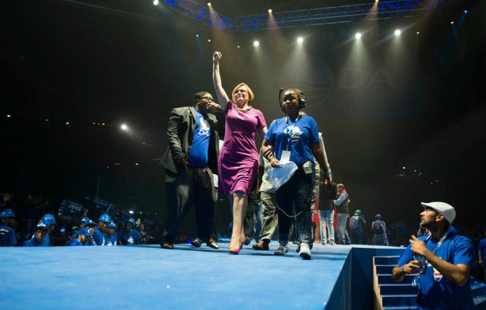 Helen Zille says the next parliamentary leader will have to work with her.