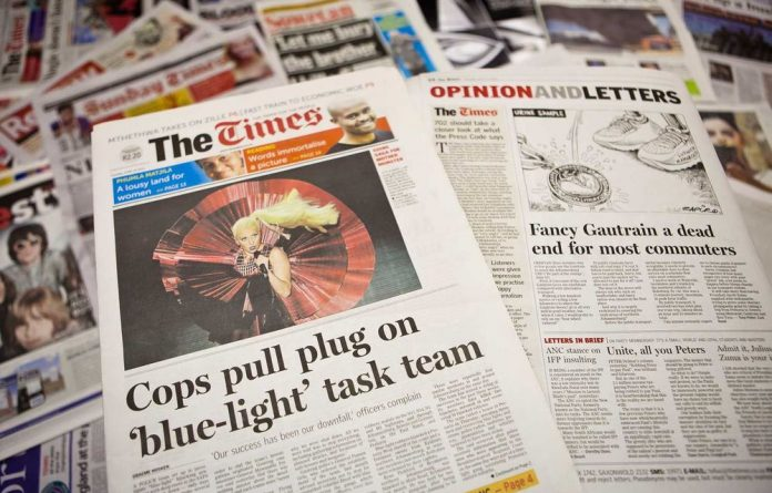 Caxton's shareholding in Times Media Group has increased with its acquisition of Mvelaphanda Holdings' 7.3%.
