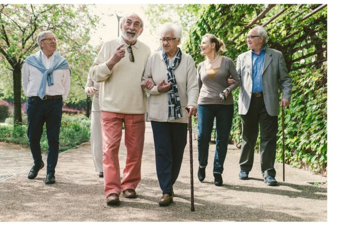 Today's luxury retirement properties are typically for able-minded and active retirees seeking a sense of community
