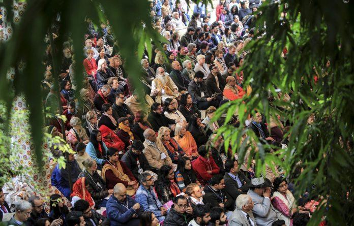 The Jaipur Literature Festival in Jaipur