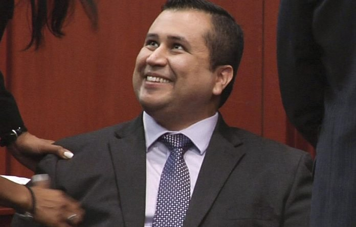 George Zimmerman after a not guilty verdict was handed down in his trial in Sanford
