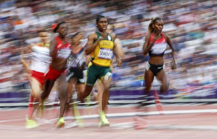 Need for speed: Caster Semenya
