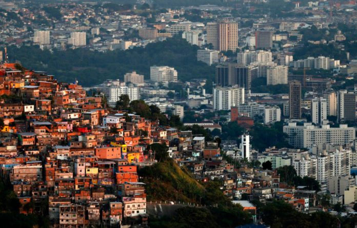 Residents of Rio de Janeiro's favelas say they are paying the price for the developments that were made in the Brazilian capital ahead of the Olympics.