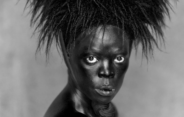 Zanele Muholi presents self-portraits taken from her travels in different parts of South Africa