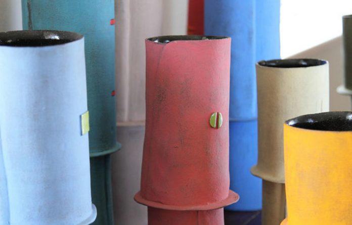 Ceramic vessels by Clementina van der Walt