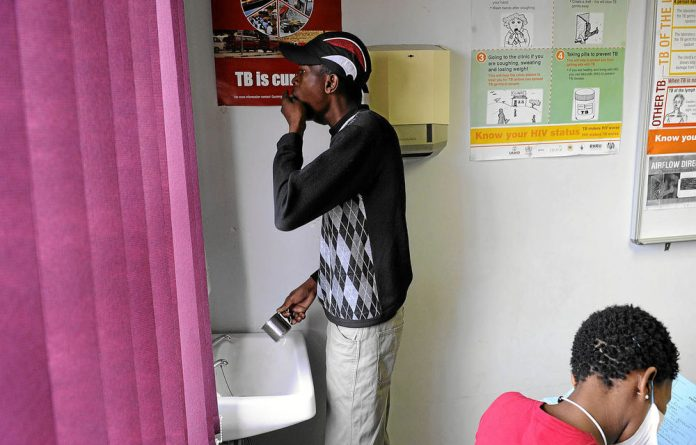 Hands-on: The state is banking on technology to help fight tuberculosis.