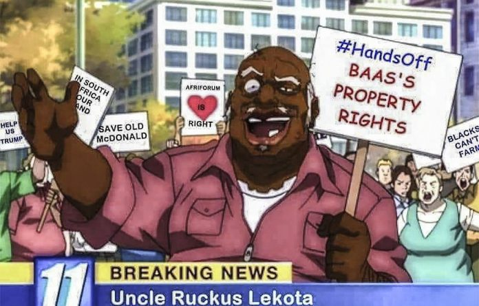 Lekota completed his transformation from United Democratic Front activist to Ruckus when he asserted that no land had been stolen by white people in South Africa