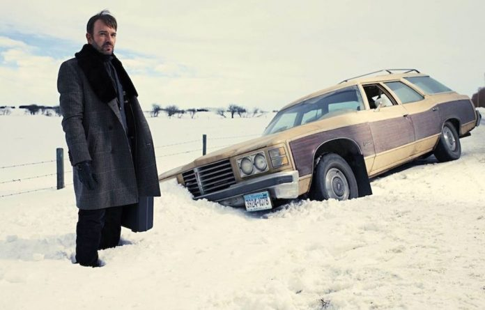 Billy Bob Thornton as the roving hitman in the tv series Fargo.