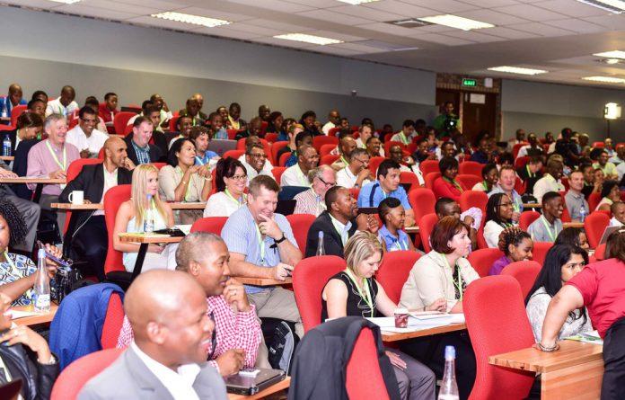 Delegates at the SATN conference
