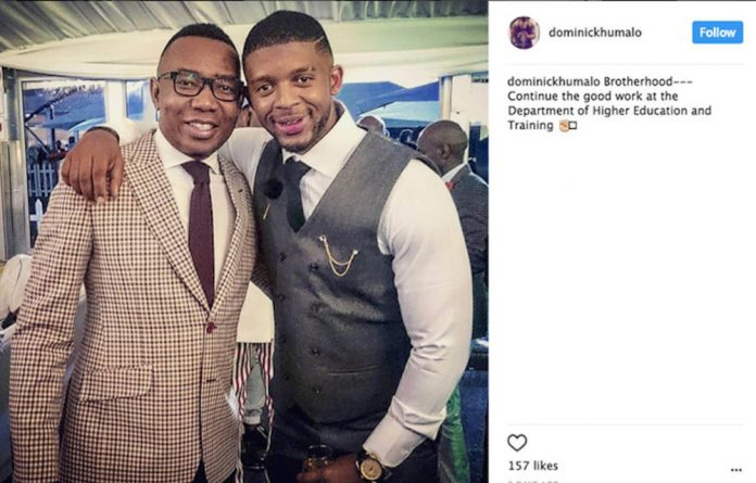 The bro code: Dominic Khumalo's post showing solidarity with Mduduzi Manana