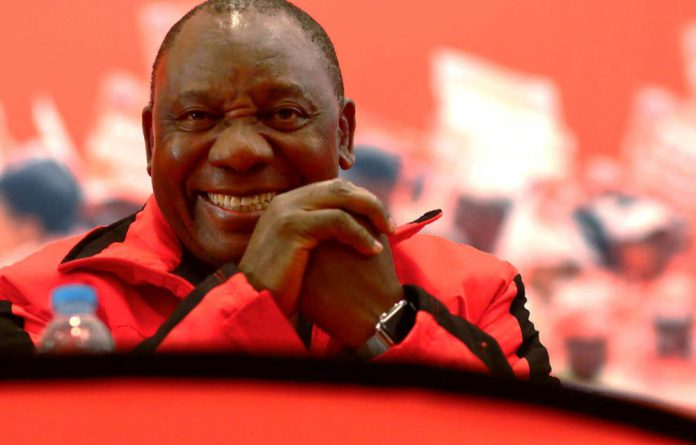 The deputy president showed no signs of abating his criticism of corruption or the decay of the ANC.