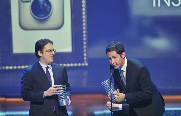 Instagram co-founders Kevin Systrom and Mike Krieger.