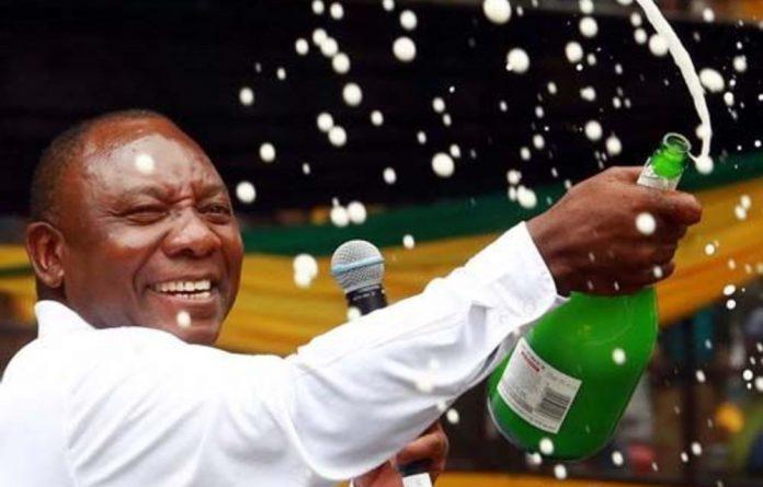 ANC deputy president and businessperson Cyril Ramaphosa.