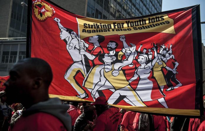 Challenge: Metal workers' union Numsa