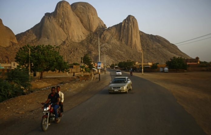Human trade: Sudan's eastern border town of Kassala in front of the Taka Mountains. Security forces are supposed to have intensified their patrols along the border with Eritrea in a bid to curb migrant smuggling