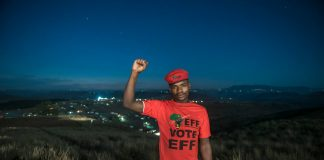 """Candidate Sisonke Jaca: """"The EFF will deliver. I'm 100% certain about that."""""""