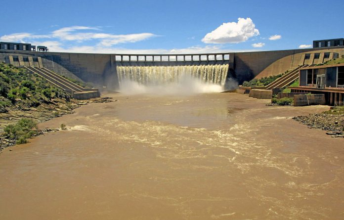 The Gariep Dam in Free State has the maximum capacity 360MW of hydropower